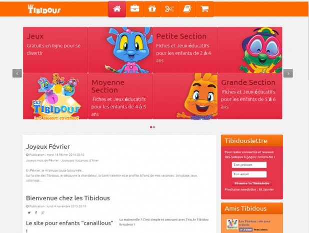 Site officiel des Tibidous